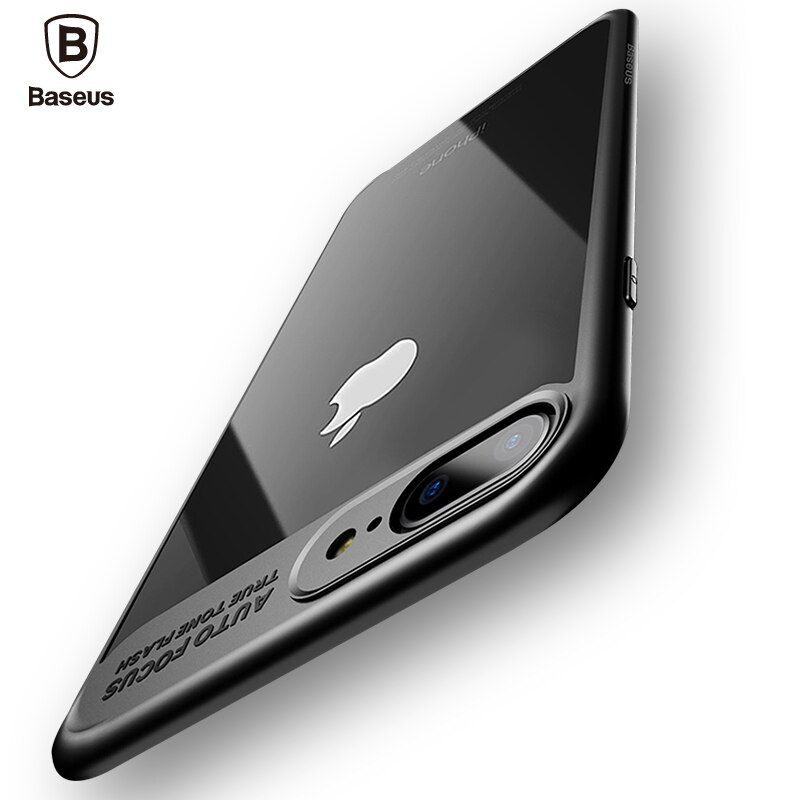 Baseus Luxus Fall Für iPhone 8 7 6 6 s Ultradünne Capinhas PC & TPU Silikon Hülle Für iPhone 8 7 6 s 6 s Plus Coque Fundas