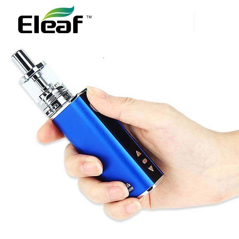 Kit d'origine Eleaf iStick TC 40 W avec batterie 2600 mAh Mod & 3 ml gs-tank atomiseur E Cigarette Vape Kit VS 40 W Eleaf iStick TC MOD