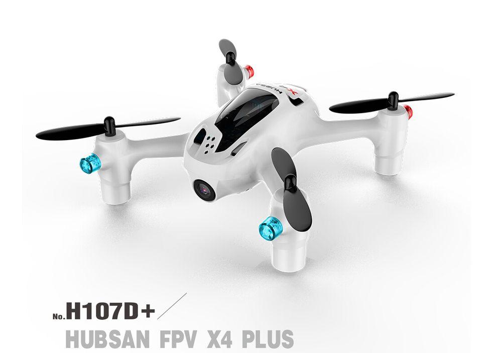 Hubsan FPV X4 Plus H107D+ with 720P HD Camera 6-axis Gyro RC Quadcopter RTF Drone F16767