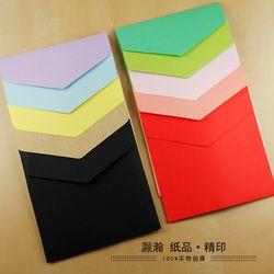 Carré Enveloppes Papier Enveloppes 15.8*15.8 Cm Couleur Enveloppes 100 PCS