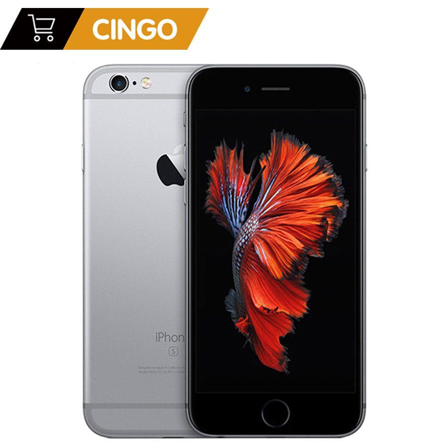 Déverrouillé Apple iPhone 6 s Plus/iPhone 6 s 2 GB RAM 16/64/128 GB ROM cellulaire téléphone IOS A9 Dual Core 12MP Caméra IPS LTE Téléphone Intelligent