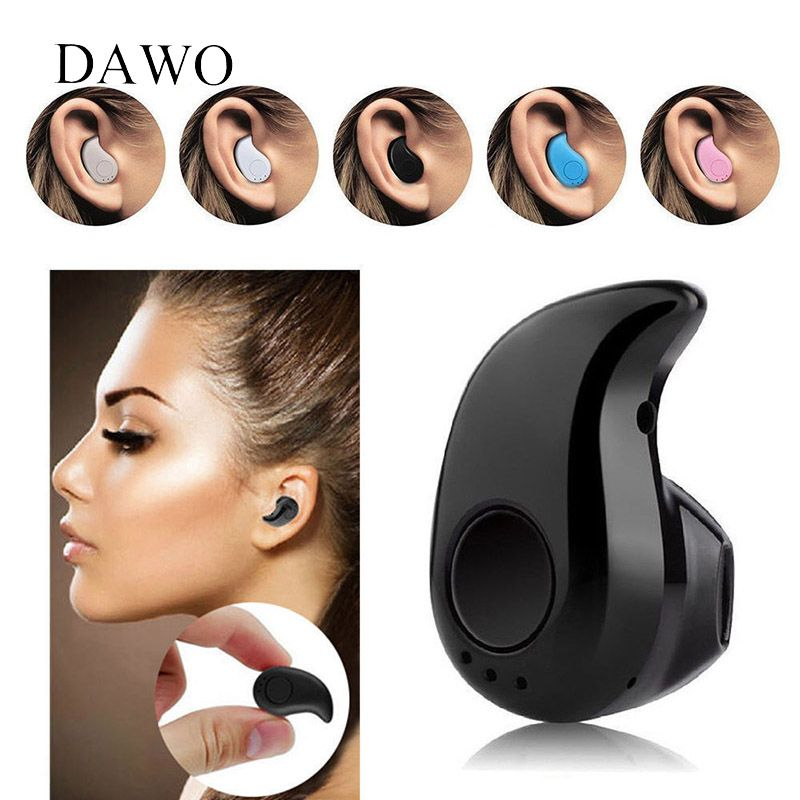 Mini Sport S530 Wireless Bluetooth Earphones Bluetooth 4.1 Built-in Microphone Noise Cancelling IN-Ear for Mobile Phone