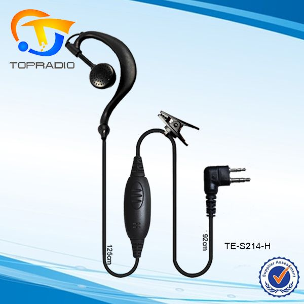 TC500 Earpiece Walkie Talkie Headset for HYT TC-510 TC-508 TC-518 TC-600 TC-710 TC-780 TC-610 Ear Hook Headphone TC500 Earpiece