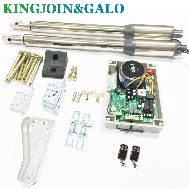 Free shipping AC220V Electric Linear Actuator 300kgs Engine Motor System Automatic Swing Gate Opener