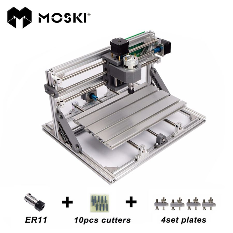 MOSKI ,cnc3018 with ER11,diy mini cnc laser engraving machine,Pcb Milling Machine,wood router,laser engraving,cnc 3018,best toy