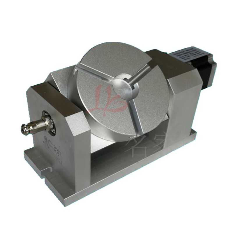 CNC Rotary axis dividing head harmonic gearbox 100:1 57 stepper motor