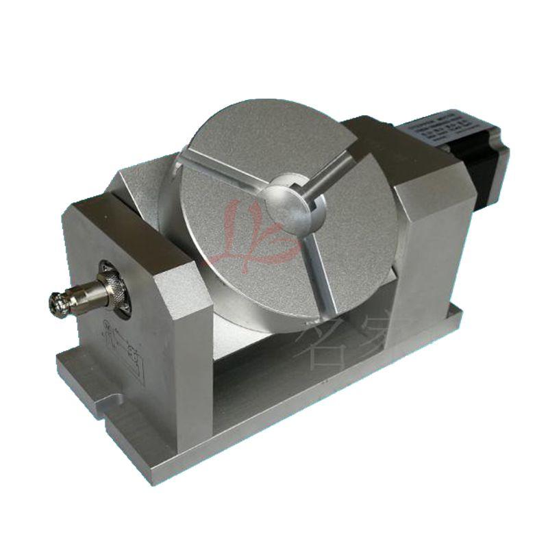 Cnc-drehachse teilapparat harmonische getriebe 100:1 57 schrittmotor