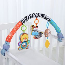 Cuna alrededor paragolpes cuna cochecito accesorios para música infantil del lecho del bebé juguetes niños cuna parachoques