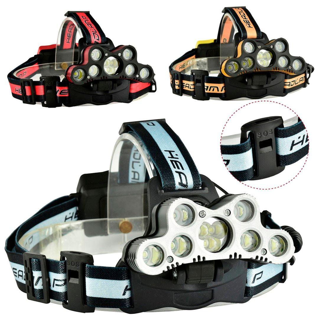 Hohe Qualität Super Helle XML-T6 + XPE Licht Scheinwerfer Scheinwerfer USB Wiederaufladbare Scheinwerfer Taschenlampe Outdoor Nachtfischen