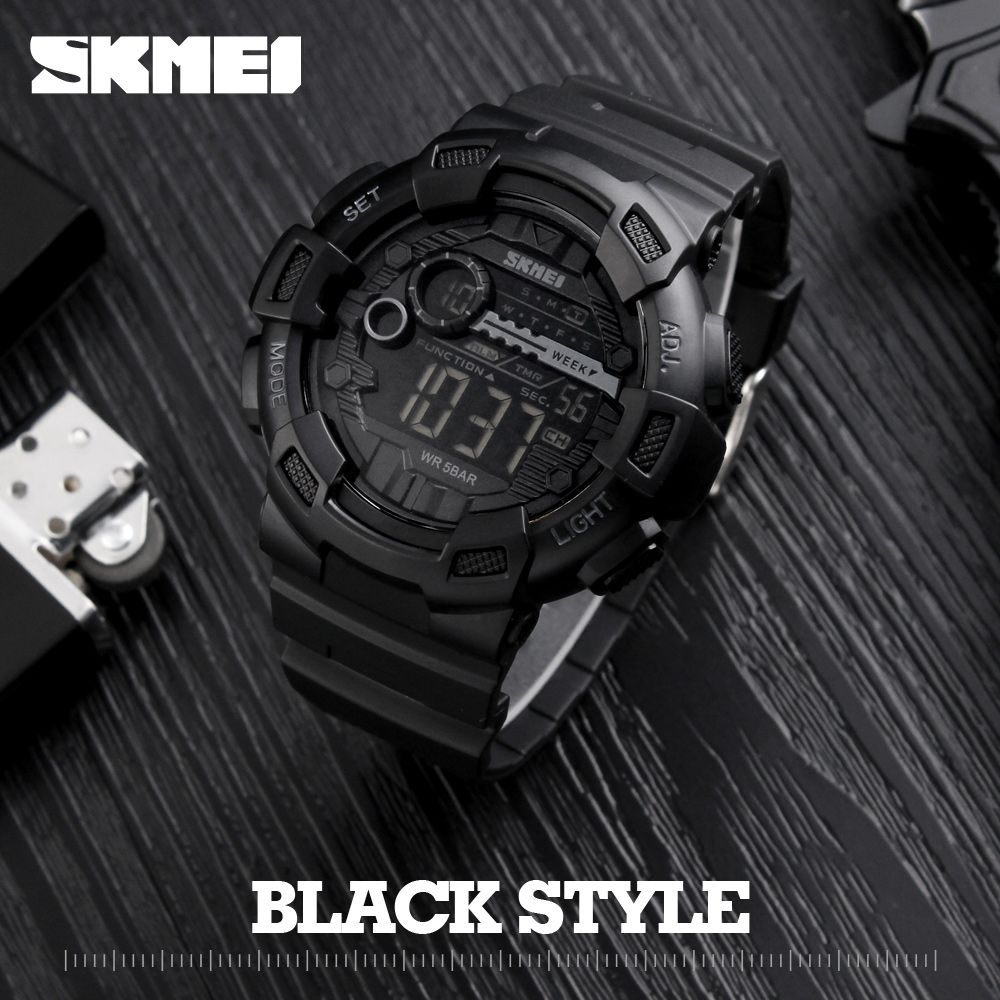 Men Silicone Sport Watch Hot SKMEI Top Brand Mens Digtial Watches Waterproof Military Electronic Wristwatch Male Clock <font><b>Reloj</b></font>