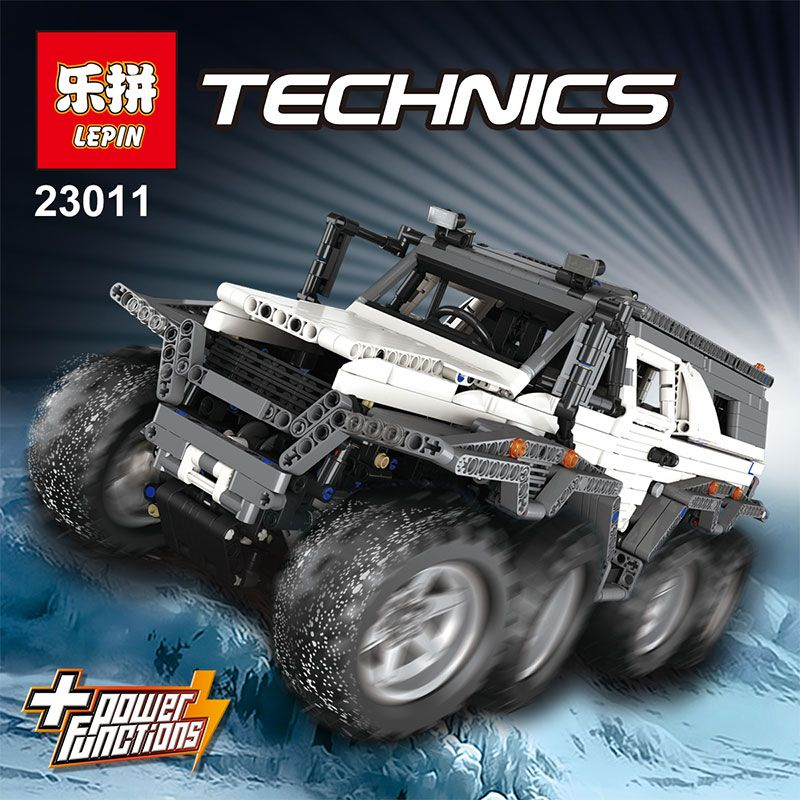 LEPIN 23011/23011B LEGOING Technic Series Off-road vehicle Model Building Kits Block Bricks Compatible Educational Boy Toys
