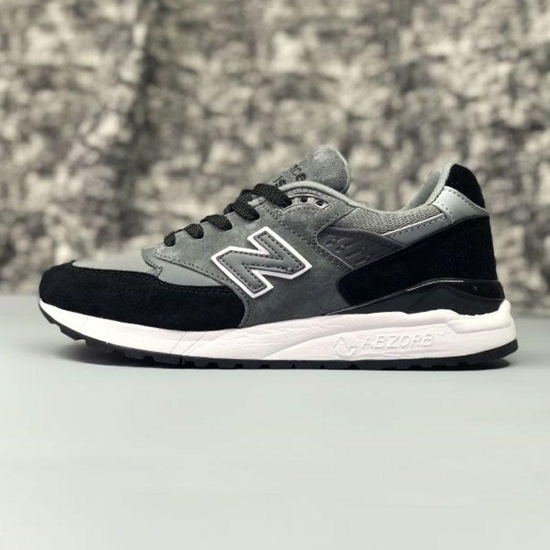 NEUE BALANCE MS998S Paar Schuhe Atmungs Jogging Leichte Schwarz Weiß Mischung 36-44 6 Farben