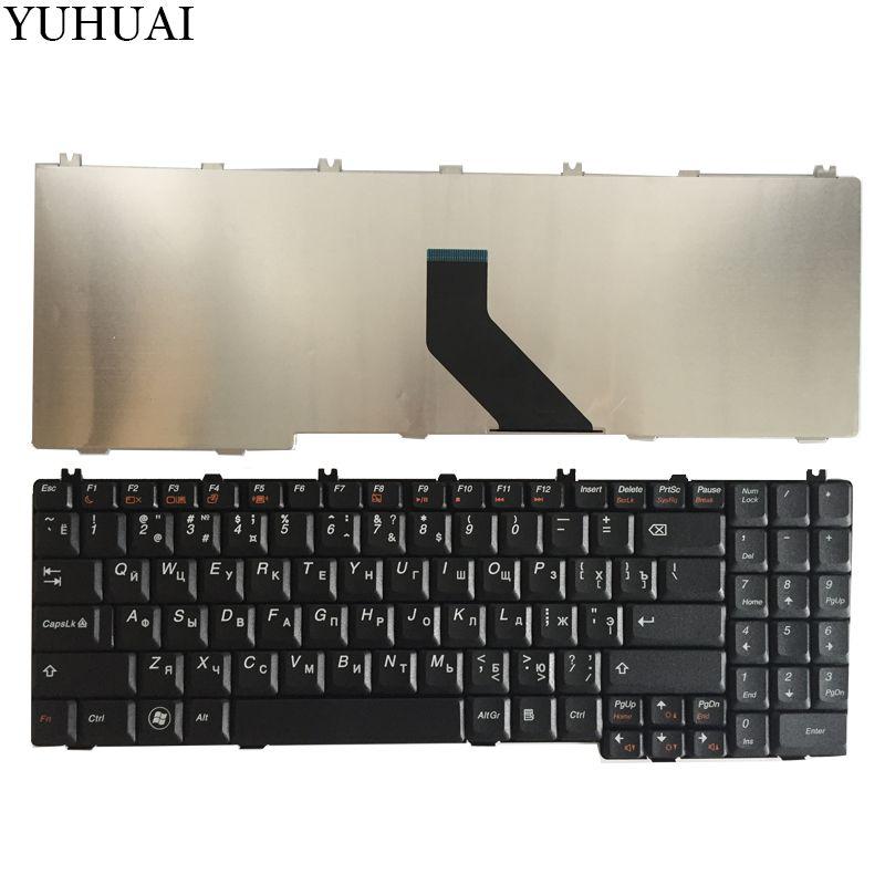 New Russian RU Keyboard for Lenovo IdeaPad B550 B560 V560 G550 G550A G550M G550S G555 G555A G555AX Black laptop 25-008405