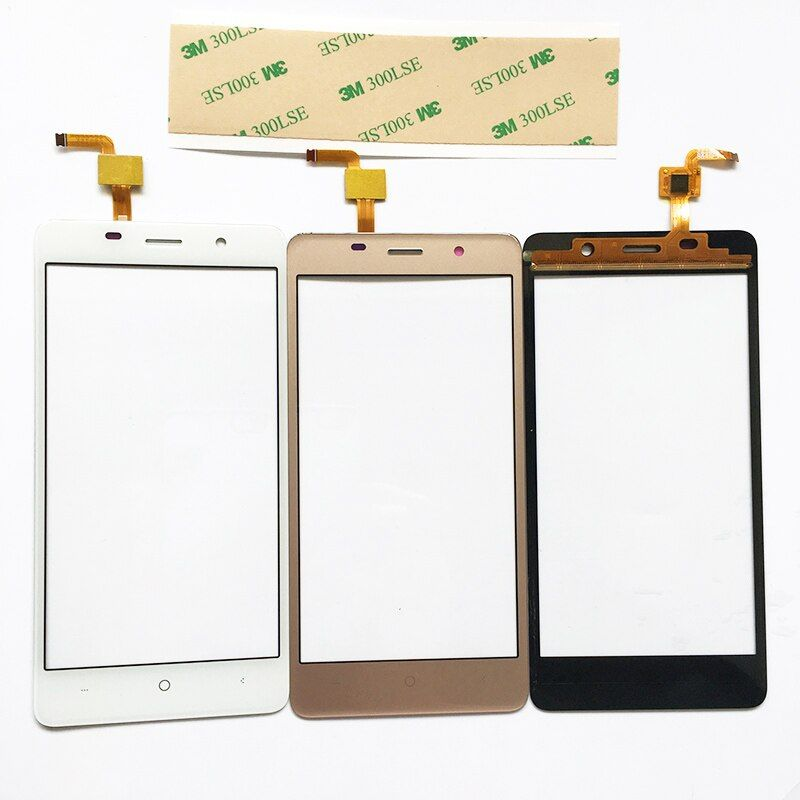 3 Color Touch Panel For LEAGOO M5 Sensor Touch Screen Digitizer Repair Parts Touchscreen Front Glass Lens