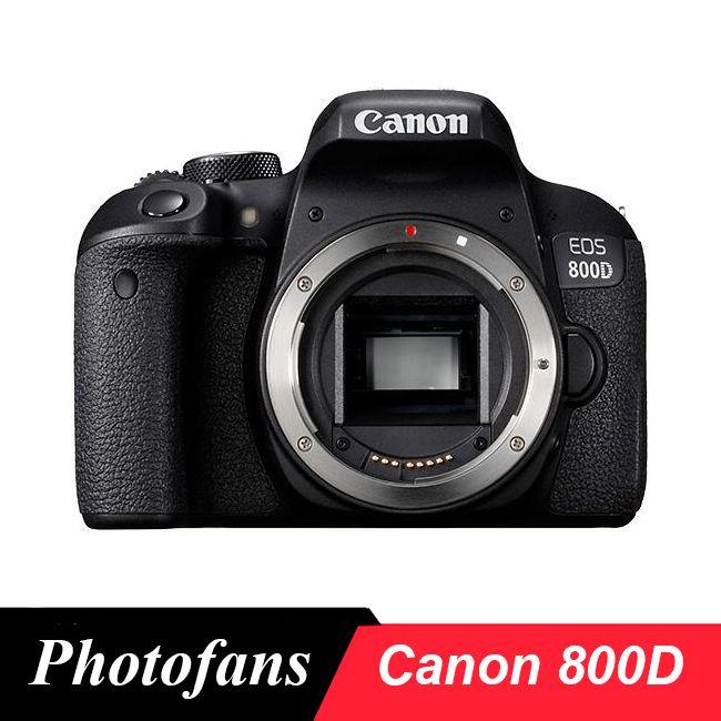 Canon 800D Rebel T7i DSLR Kamera