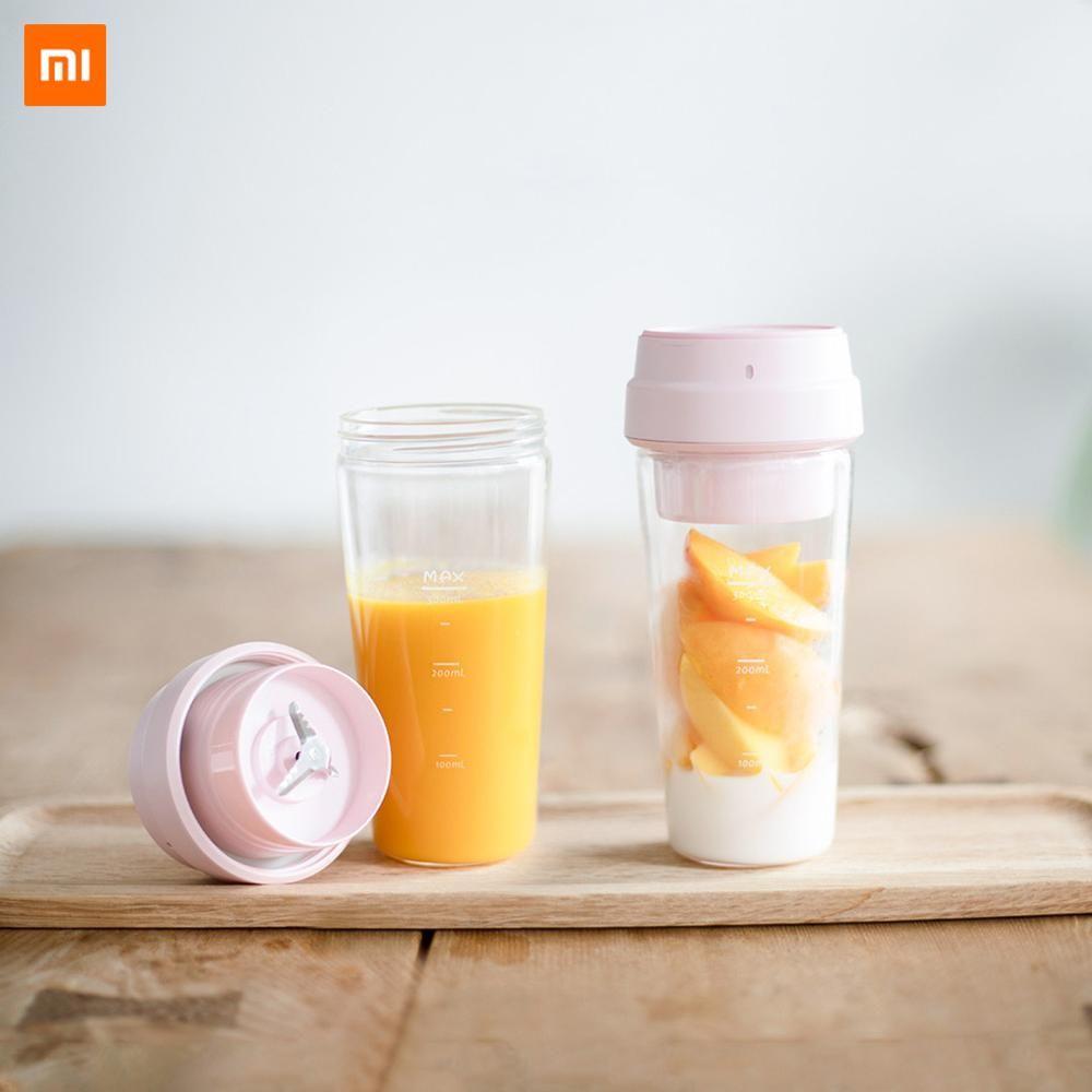 Xiaomi 17PIN Star Firut tasse Portable presse-agrumes 400ML fruits tasse charge magnétique 30 secondes de jus rapide adapté à la forme physique