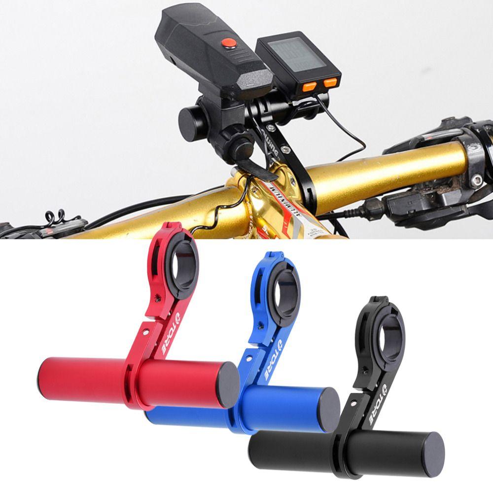 En Alliage d'aluminium de Guidon Extension Bicycle Mount Extender Support pour Lumière Lampe Vélo Chronomètre Support 31.8/25.4mm