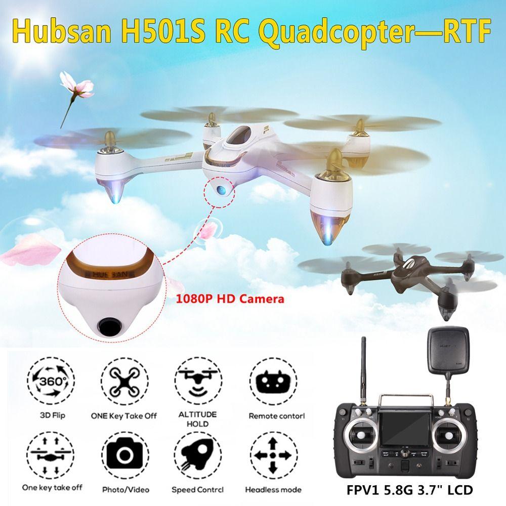 Hubsan H501S X4 5,8G FPV Brushless Motor Mit 1080 P HD Kamera eingebaute GPS 2,4G 4CH 6 Achse Gyro Transmitter RC Quadcopter RTF