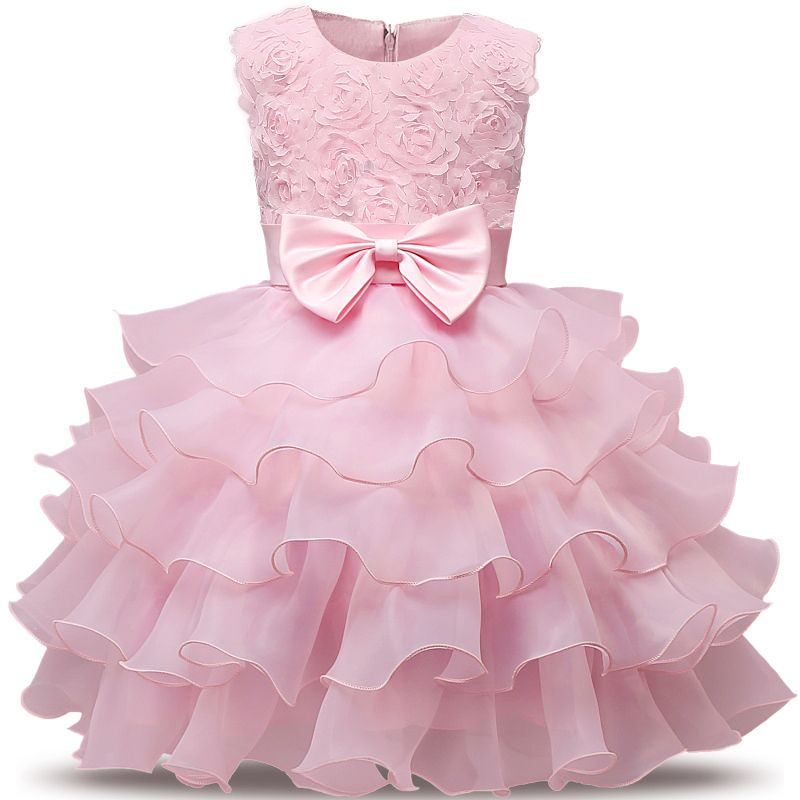 New Born Baby Party Dress For Girl Wedding Baptism Bebes 1st 2nd Birthday Outfits Christmas Gift Brand Girl Clothes Christening
