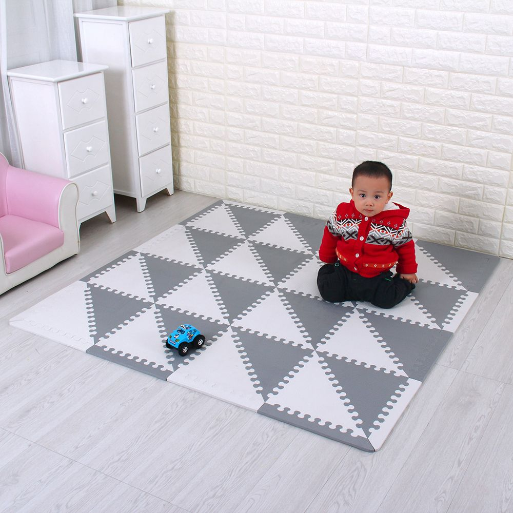 Eva Foam Puzzle Mats Children's Mats with Boards Interlocking Environmental Foam Tiles Soft Tatami Kids Rugs Baby Play Mat
