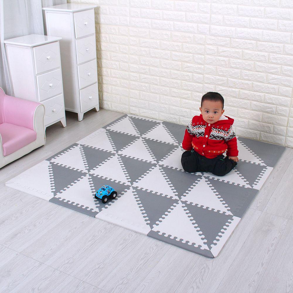 Eva Schaum Puzzle Matten kinder Matten mit Boards Verriegelung Umwelt Schaum Fliesen Soft Tatami Kinder Teppiche Baby Spielen Matte
