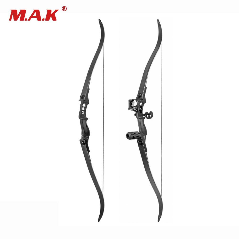 30-50 Lbs Recurve Bow Length 54 Inches Riser Length 17 inch American Hunting Bow for Archery Hunting Practice