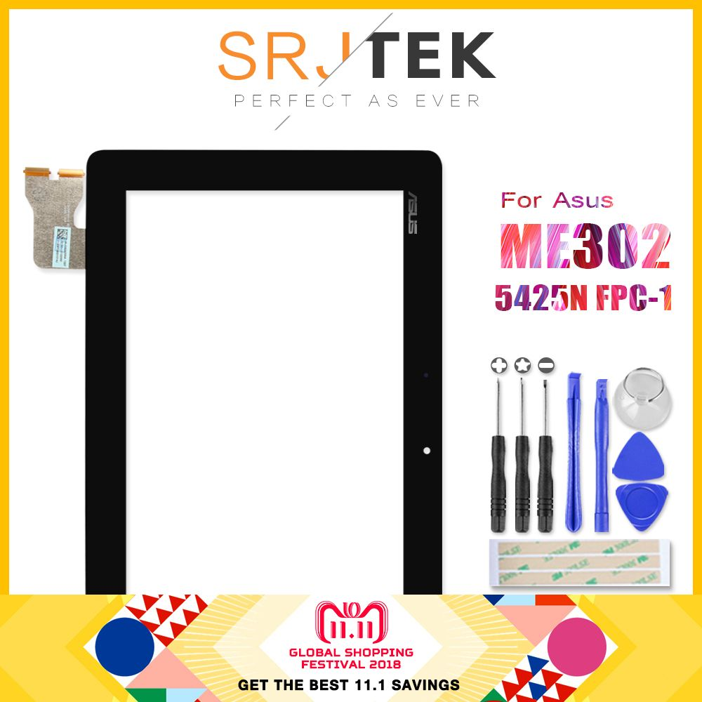 Digitizer For ASUS MeMO Pad FHD 10 ME302 ME302C ME302KL K005 K00A 5425N FPC-1 Touch Screen Digitizer Glass Sensor Tablet Pc