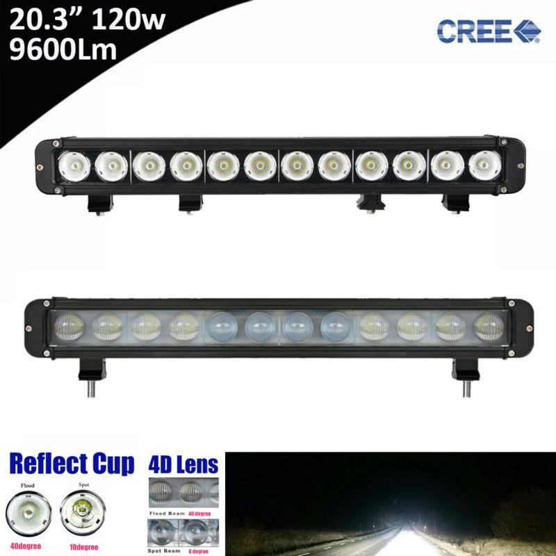 1 stücke 120 Watt 9600Lm Super Helle 20 Zoll Einreihige Gerade LED-Licht Bar für Offroad 4*4 SUV ATV Traktor 12 V 24 V Pickup UTV Lkw