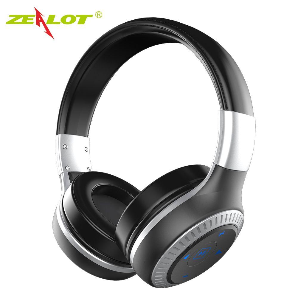 ZEALOT B20 Stéréo Sans Fil Bluetooth 4.1 Écouteurs Casque Avec Micro pour Iphone Samsung Casque Xiaomi Casque HTC Huawei