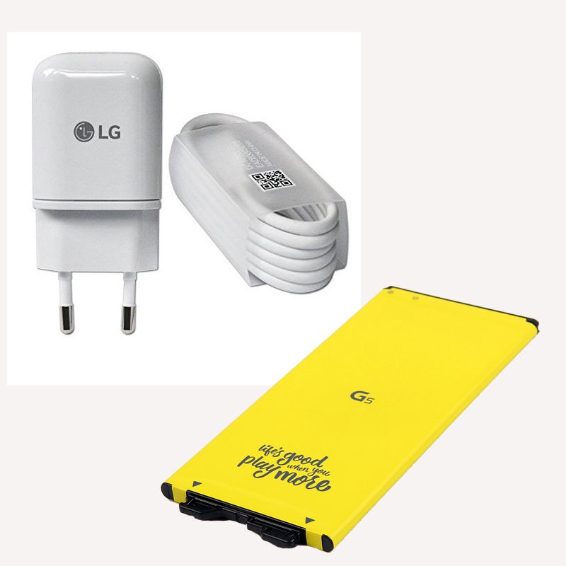 Original LG BL-42D1F Batterie + ladegerät für LG G5 VS987 US992 H820 H850 H868 H860