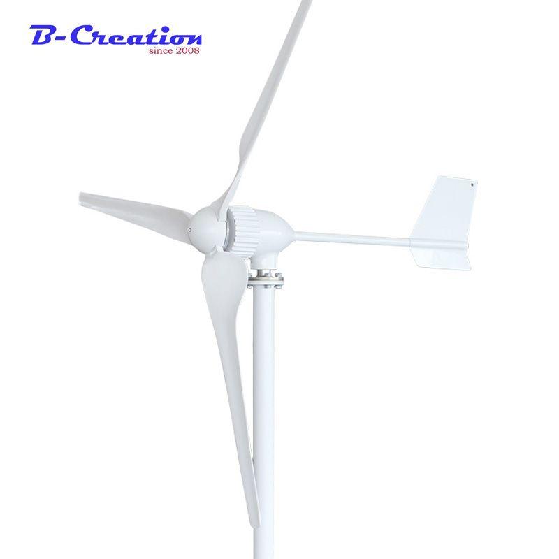 1000 w 1KW Wind Turbine Generator Drei Klingen, 24 V/48 V Optional Wind Generator mit 1000 Wwind controller oder Hybrid Controller