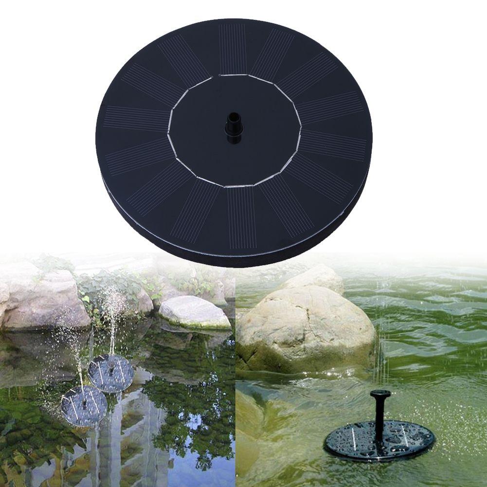 Fontaine solaire fontaine a eau solaire pompe pour jardin piscine etang arrosage exterieur panneau solaire Kit pompes pour fontaine