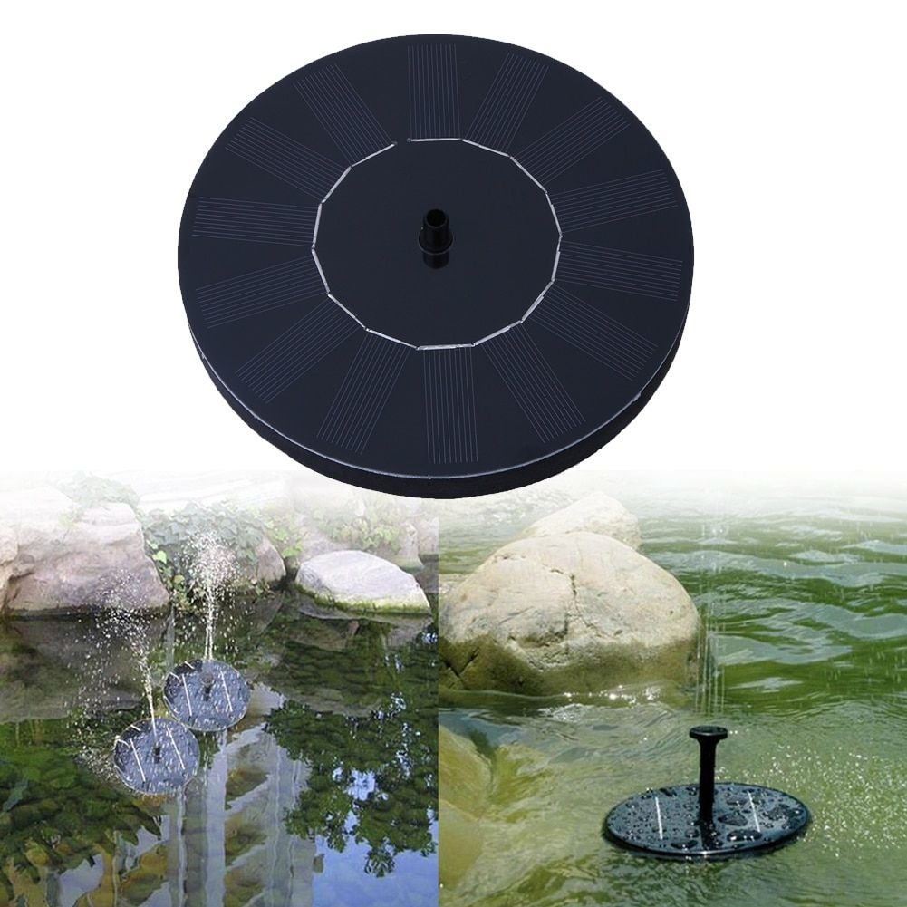 Solar Fountain Solar Water Fountain Pump for Garden Pool Pond Watering Outdoor solar Panel Pumps <font><b>Kit</b></font> for Fountain drop shipping