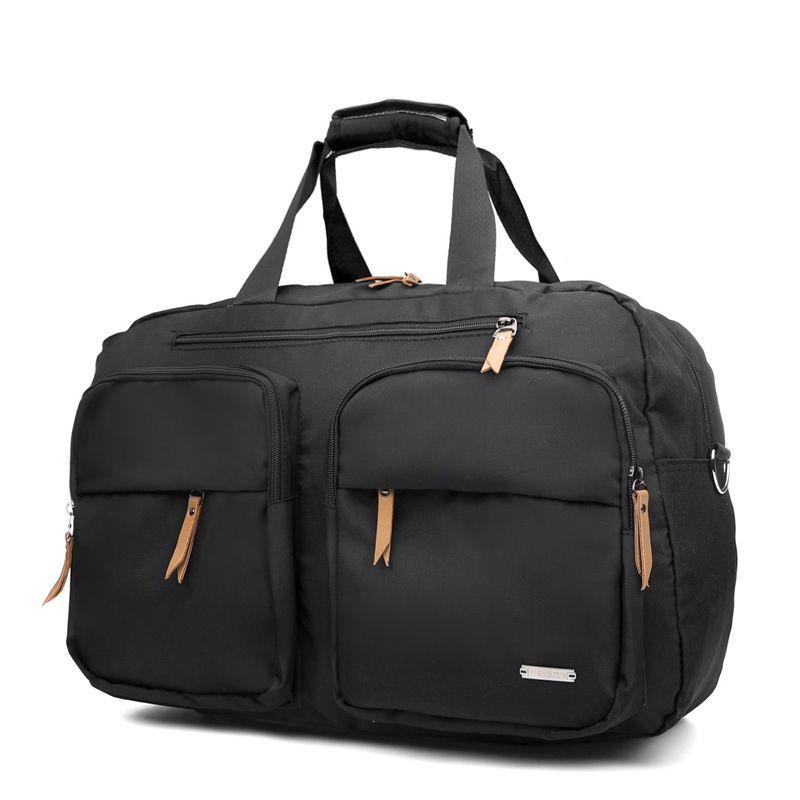 High-capacity Short-sleeved Portable Travel Bag Female Travel Bag Shoulder Male Bag Waterproof Luggage Factory Direct