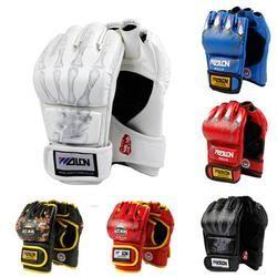 Erwachsene Dick Boxhandschuhe MMA Handschuhe Half inger Sanda Taekwondo Kampf MMA Sandsack Handschuh Professionelle Trainingsgeräte