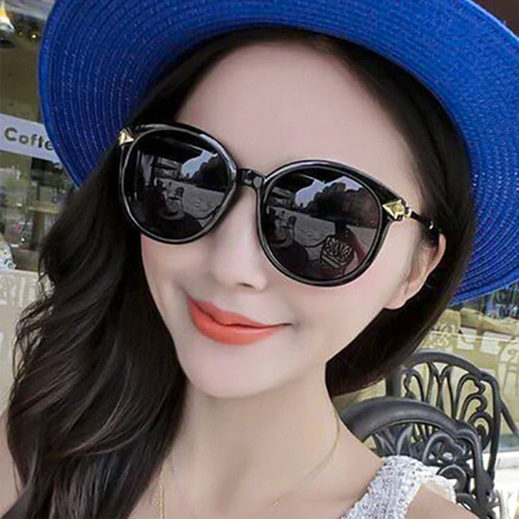 2016 new large sunglasses and arrow retro round <font><b>frame</b></font> sunglasses boutique trendsetter glasses wholesale