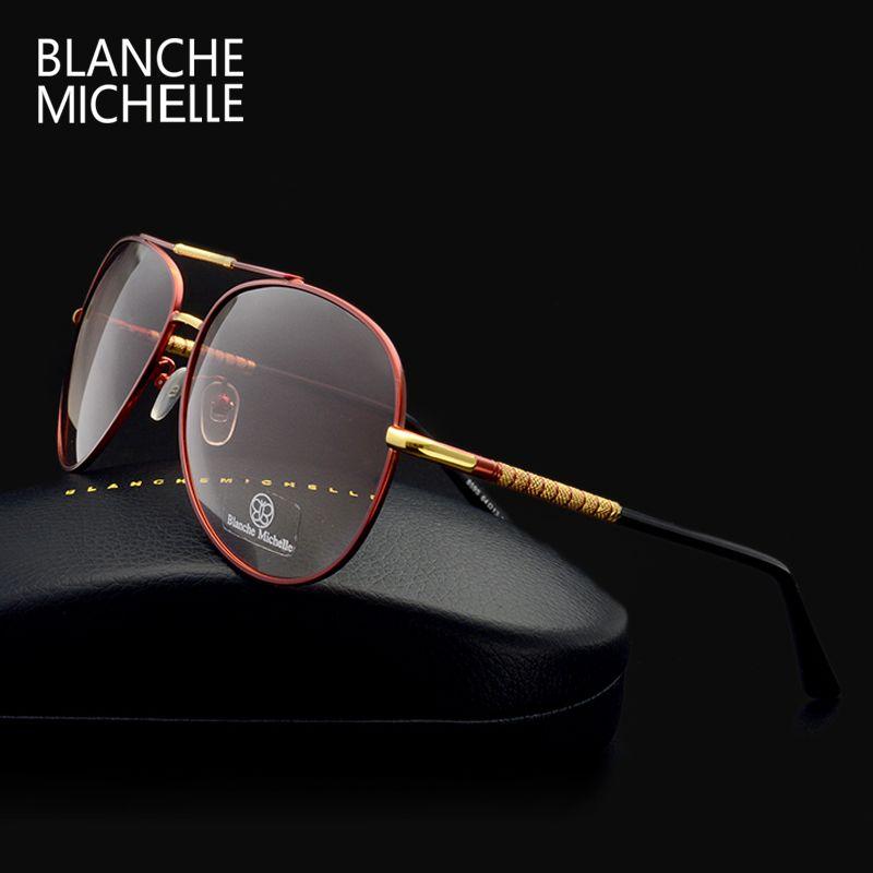 De luxe lunettes de soleil polarisées hommes UV400 marque designer 2018 haute qualité pêche lunettes de soleil dégradé Conduite oculos avec boîte