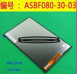 Onda V820W LCD ASBF080-30-01 02 03 display screen within 1280 * 1280 resolution
