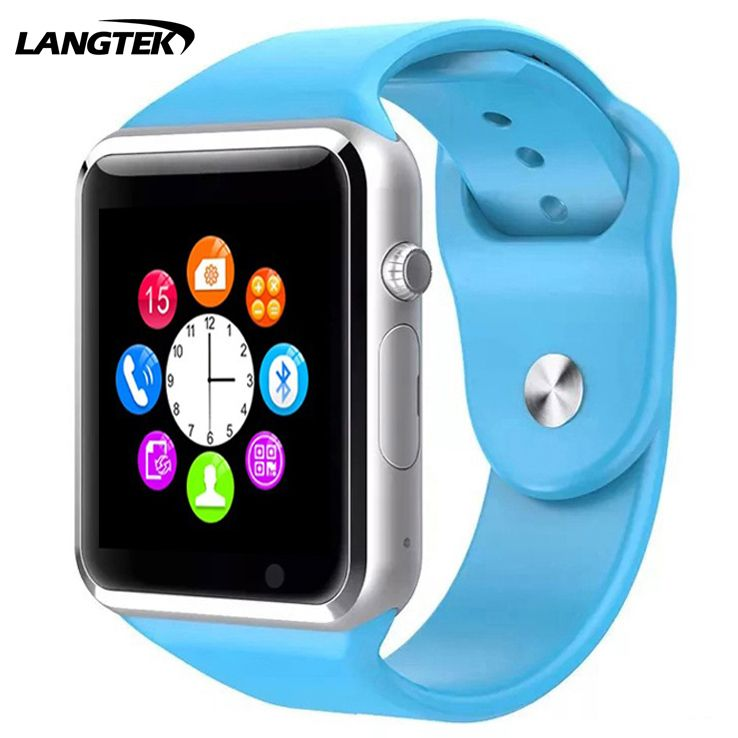 Langtek Smart Watch A1 Bluetooth Спорт Шагомер SIM/TF Bluetooth Smart Watch для Apple и Android SmartWatch iphone