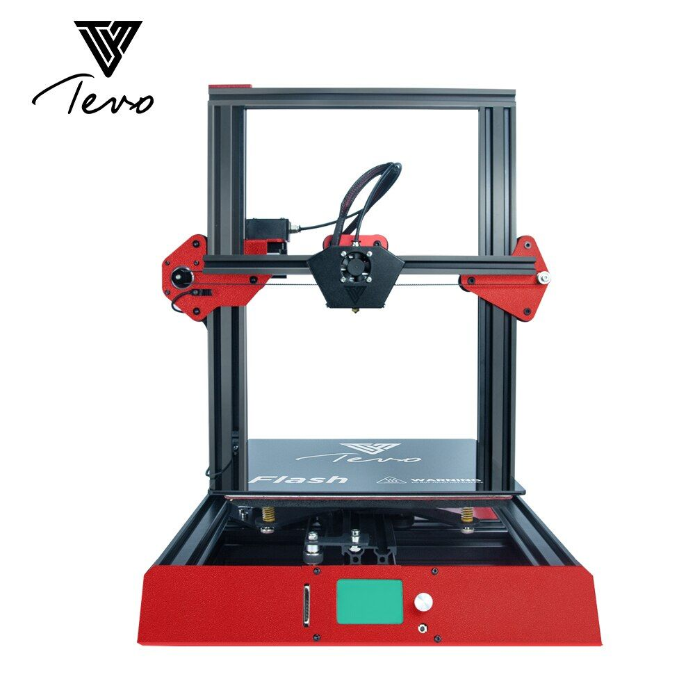 2018TEVO Flash TEVO 3D Printer Aluminium Extrusion 3D Printer kit 3d printing Prebuilt 50% SD card Titan Extruder FDM 3D Printer