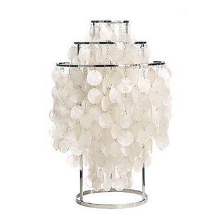Modern Brief shell Table Lamp Bedroom Bedside Lamp E27 110-240V
