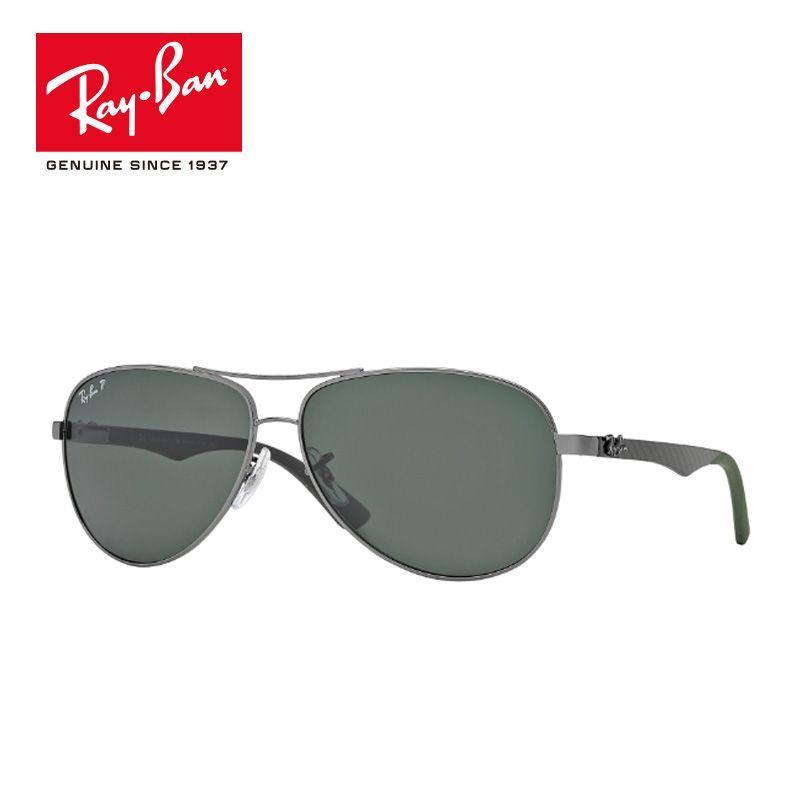 Rayban 2018 Original Sunglasses Brand Designer Polarized Eyeglasses gafas Sun Glasses classic prescription RB8313-004/N5