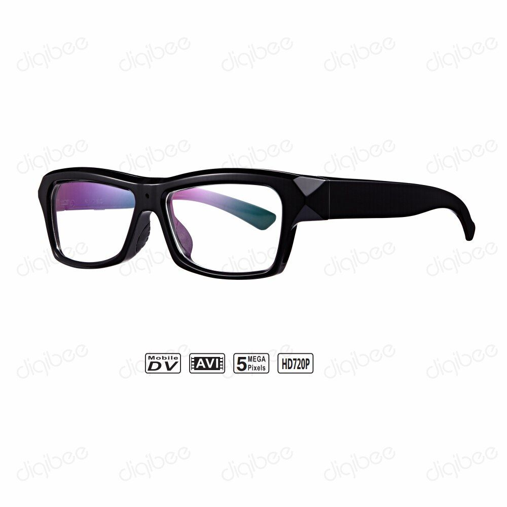 New TR90 Frame 720P HD Wearable Smart Eyeglasses Mini Video Camera Glasses Video Recorder with 32GB TF Card OTG for Android 4.0+