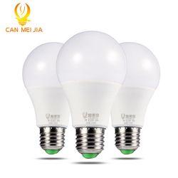 CANMEIJIA Haute Luminosité LED Ampoule E27 220 V Lampe Ampoules 3 W 5 W 7 W 9 W 12 W 15 W 18 W Maison Ampoule Led Bombillas Froid Blanc Chaud