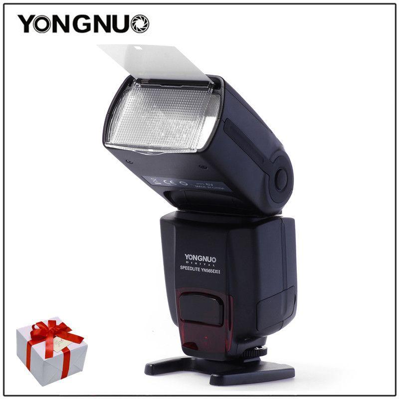 Yongnuo Wireless TTL Flash Speedlight YN-565EX II for Canon 6D 60d 650d YN565EX For Nikon D7100 D3300 D7200 D5200 D7000 D750 D90