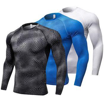 новый рашгард с длинным рукавом футболка спортивная мужская спортивная мужская футболка мужские rashgard футболки колготки demix спортивная оде...