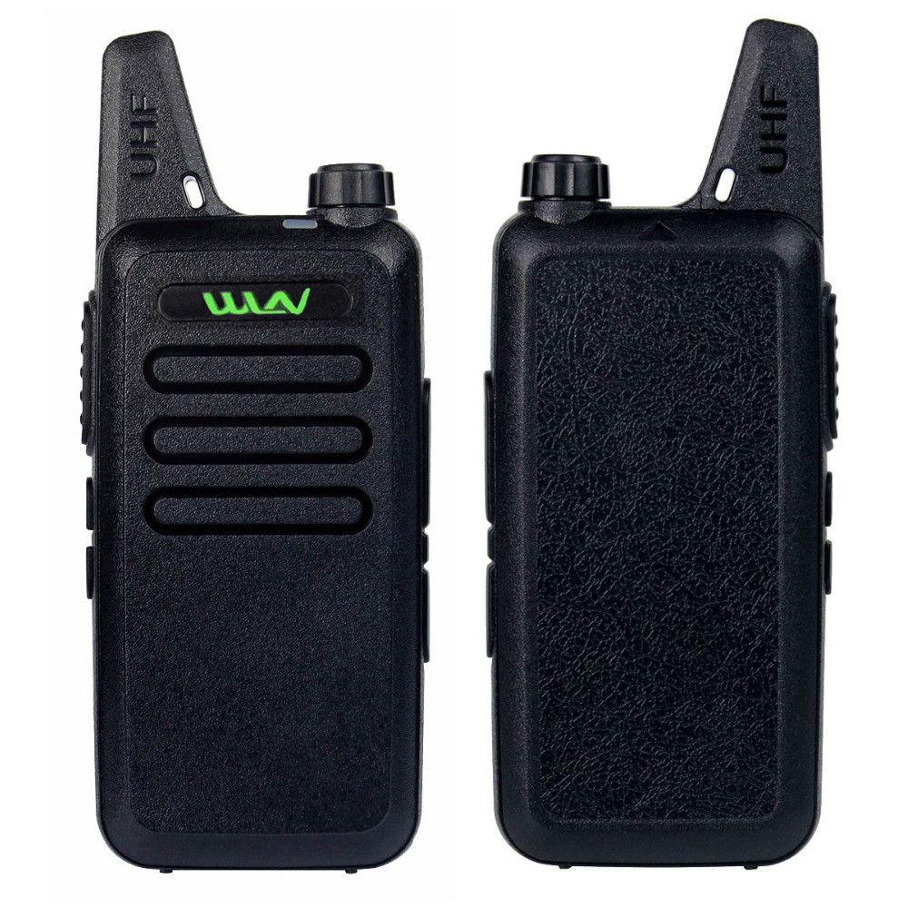 NEW Radio Walkie Talkie WLN KD-C1 5W UHF 400-470MHz CTCSS/DCS TOT VOX Scan Squelch Two Way Radio MINI-handheld Transceiver