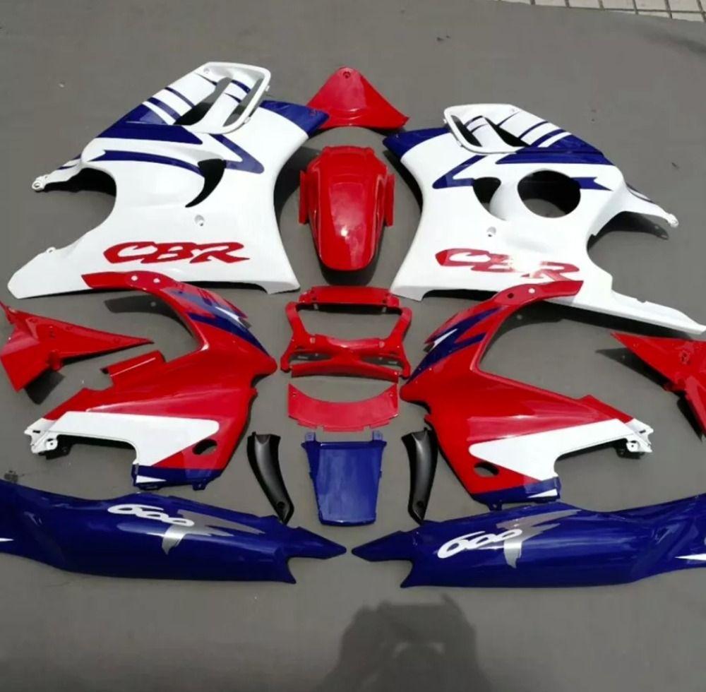 ABS verkleidung kits für Honda CBR 600 F3 97 98 CBR600F3 1997 1998 körper kits enthalten Tank abdeckung