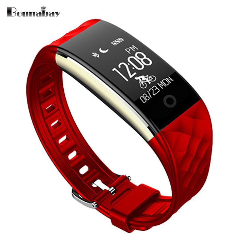 BOUNABAY Smart Bluetooth Bracelet watch for women touch screen watches Android ios phone ladies waterproof clocks lady 3g clock
