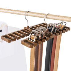 LIYIMENG Belt Storage Rack Hanging Tie Shelf Closet Shelves Organizer Multifunctional Wardrobe Space Saver Scarf Rack